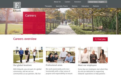 Careers | Edwards Lifesciences