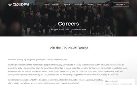Screenshot of Jobs Page cloud4wi.com - Mark says... - captured May 9, 2017