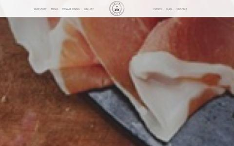 Screenshot of Menu Page tolaninyc.com - MENU - Tolani Eatery & WineTolani Eatery & Wine - captured Oct. 1, 2014