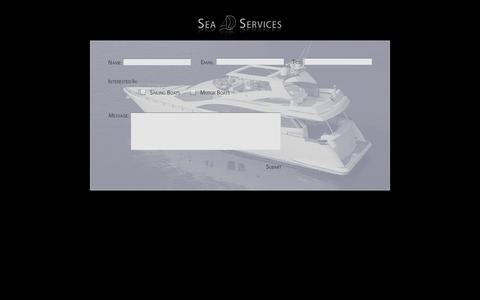 Screenshot of Contact Page seaserv.it - Sea Services - Contact Us - captured Oct. 4, 2014
