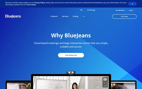 The Meetings Platform for the Modern Workplace | BlueJeans