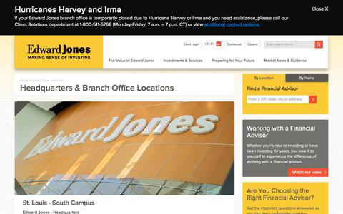 Headquarters & Campus Locations | Edward Jones