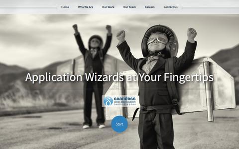 Screenshot of Home Page swatstudios.com - SWAT | Seamless Web Application Technologies, LLC - captured Feb. 4, 2016