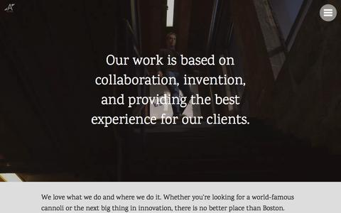 Screenshot of Jobs Page alipes.com - Alipes | Agency - captured Nov. 20, 2016