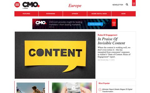 Digital marketing strategies, news, and trends in Europe | CMO.com - Adobe