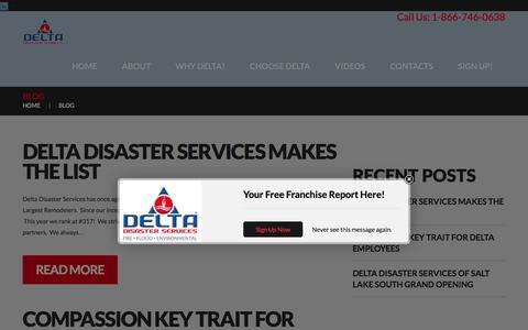Screenshot of Blog delta-us.com - Delta Development Group | - captured Feb. 9, 2016