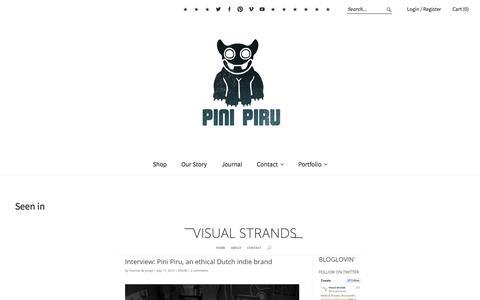Screenshot of Press Page pinipiru.com - Seen in - Pini Piru - captured Dec. 15, 2015
