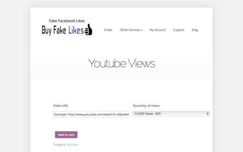 Youtube Views | Buy Fake Facebook Likes