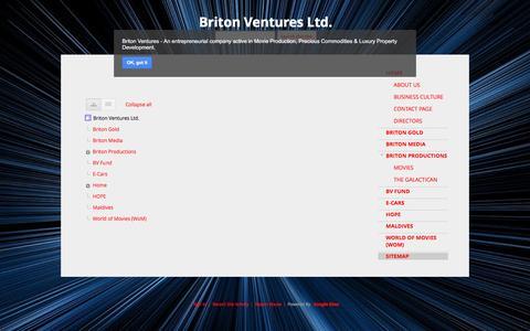 Screenshot of Site Map Page google.com - Sitemap - Briton Ventures Ltd. - captured Sept. 29, 2016