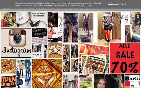 Screenshot of Home Page bijmarlies.nl - bij MARLIES - captured Oct. 11, 2015