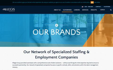 Our Network of Staffing & Recruiting Companies | Allegis Group