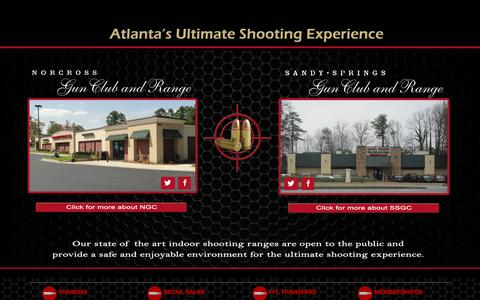 Screenshot of Home Page myshootingrange.com - My Shooting Range - captured Oct. 4, 2014