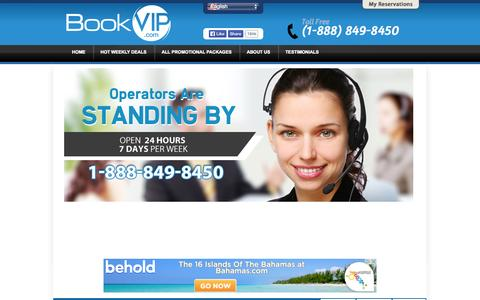 Screenshot of Contact Page bookvip.com - Contact Us - captured Sept. 19, 2014