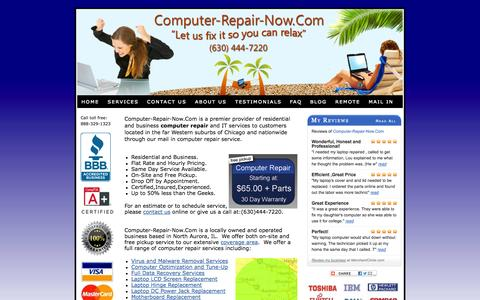 Screenshot of Home Page computer-repair-now.com - Computer Repair Services from Computer-Repair-Now.Com - captured Oct. 2, 2014