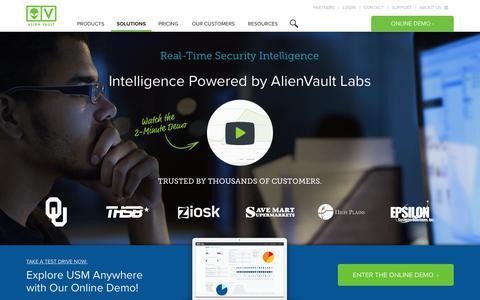 Security Intelligence | AlienVault
