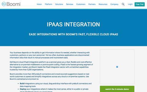 iPaaS Integration - Dell Boomi