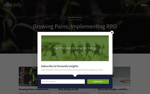 Personify Insights Blog - Personify