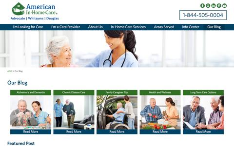 Our Florida In-Home Care Blog by American In-Home Care