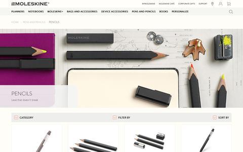 Moleskine pencils - Moleskine