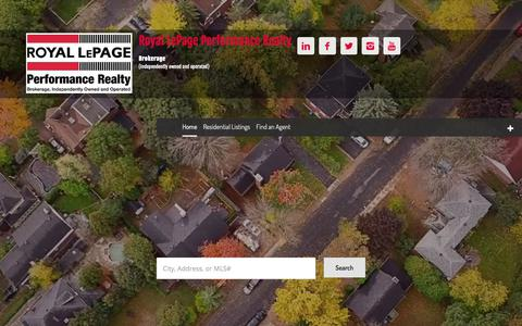 Ottawa Real Estate & MLS® Listings - Royal LePage Performance Realty