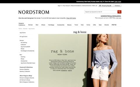 rag & bone Clothing & Shoes | Nordstrom