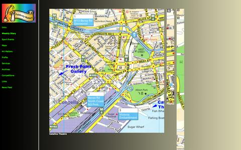 Screenshot of Maps & Directions Page pubmat.co.za - Maps - captured Oct. 3, 2014