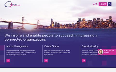 Screenshot of Home Page global-integration.com - Home - Global Integration - captured May 19, 2017