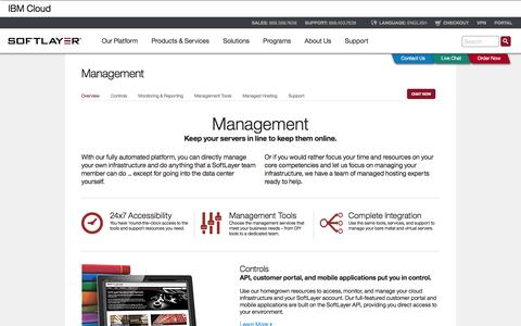 Screenshot of Team Page softlayer.com - Management | Tools and Resources for Managing Servers & Systems - captured Dec. 2, 2015