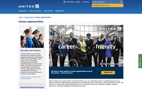 Career Opportunities at United | United Airlines