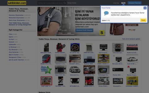 Oto, Motosiklet Yedek Parça ve Aksesuarları sahibinden.com'da