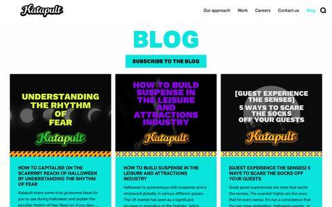 Screenshot of Blog katapult.co.uk - Blog - Katapult - captured Oct. 27, 2018