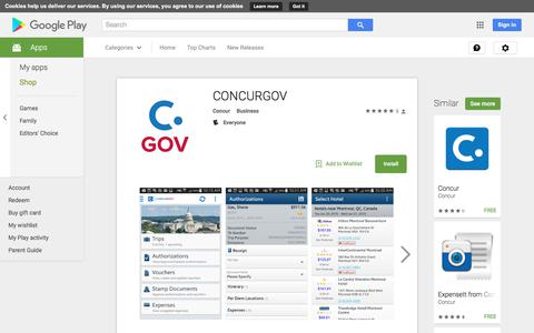 CONCURGOV - Android Apps on Google Play