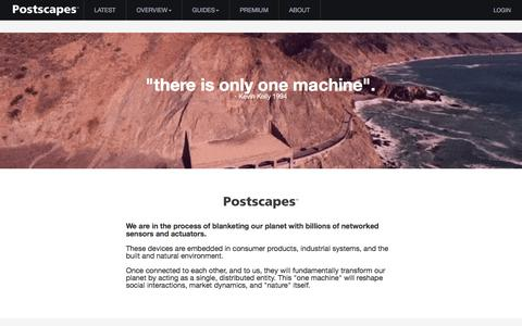 Postscapes - About