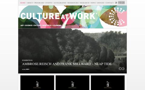 Screenshot of Home Page cultureatwork.com.au - CULTURE AT WORK : Culture at Work - captured July 23, 2018