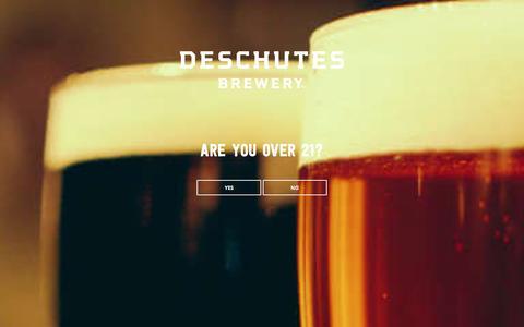 Screenshot of Jobs Page deschutesbrewery.com - Find Your Dream Job and New Career at Deschutes Brewery - captured Jan. 7, 2016