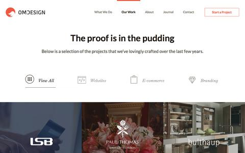 The proof is in the pudding - OMdeSIGN Studio