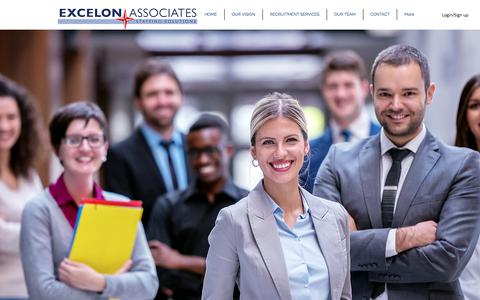 Screenshot of Team Page excelonassociates.com - Executive Team | Excelon Associates - captured Sept. 8, 2017