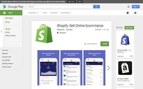 Shopify: Sell Online Ecommerce - Android Apps on Google Play