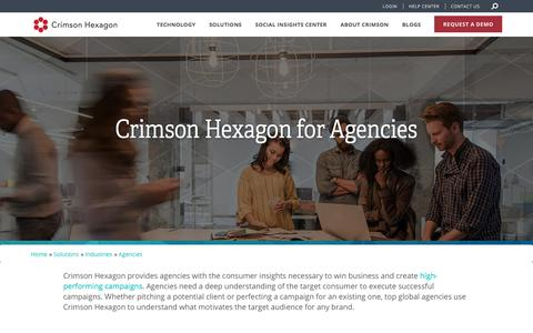 Social Listening & Audience Insights For Agencies | Crimson Hexagon
