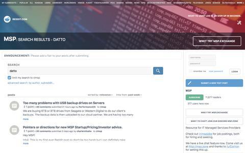 msp: search results - datto