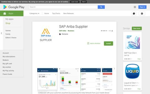 SAP Ariba Supplier - Apps on Google Play