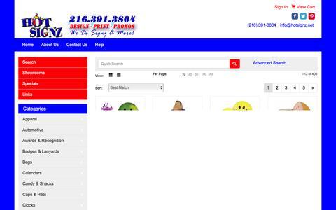 Screenshot of Team Page hotsignz.net - Hot Signz - People - captured Dec. 5, 2015