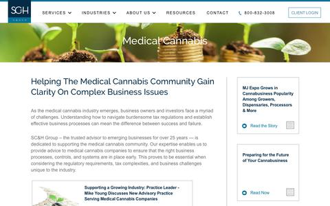 Medical Cannabis Consultants | SC&H Group