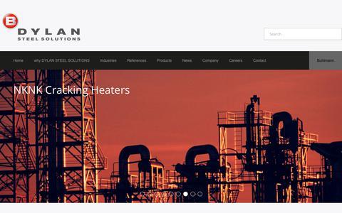 Screenshot of Home Page dylangroup.com - DylanGroup - - captured July 13, 2018