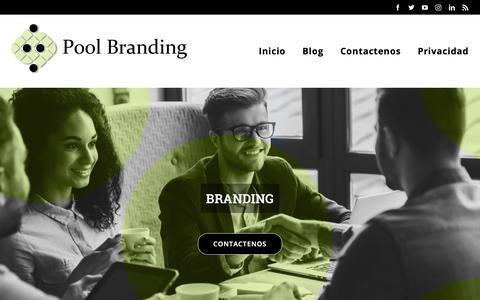 Screenshot of Blog hagamospool.com - Blog - - captured Nov. 9, 2018