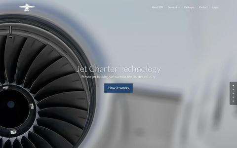 Screenshot of Home Page jdmapp.com - Home - JDM Charter Systems - captured Sept. 16, 2015