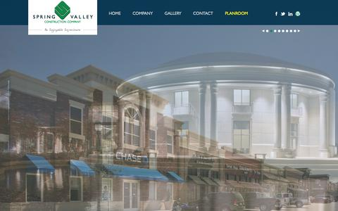 Screenshot of Home Page svcc.biz - Spring Valley Construction Company | Construction CompanySpring Valley Construction Company | Construction Company - captured Oct. 6, 2014