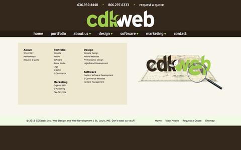 Screenshot of Site Map Page cdkweb.com - CDKWeb Sitemap | Don't Get Lost - captured May 12, 2017