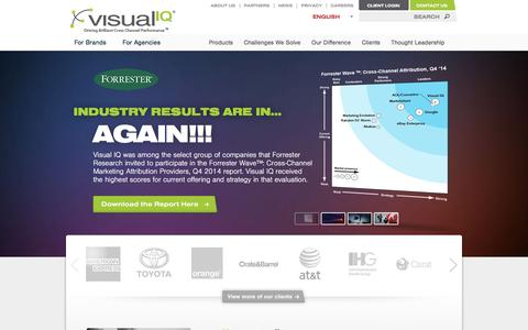Visual IQ - Cross Channel Marketing Attribution and Optimization