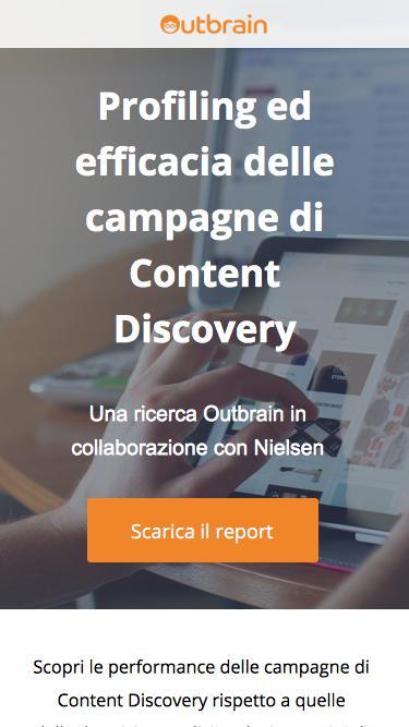 La content discovery rafforza la percezione di affidabilità del brand